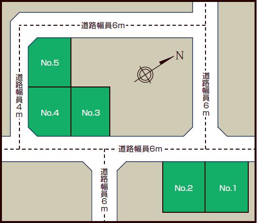 北28条西12丁目 区画図